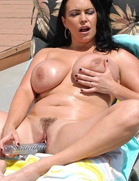 Angelina fucking outdoors